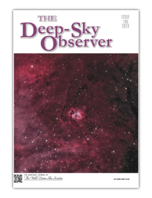 The Deep-Sky Observer 180 Cover