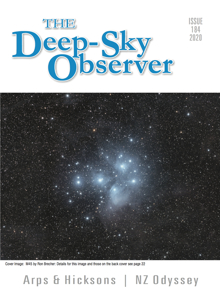 The cover of The Deep-Sky Observer 184