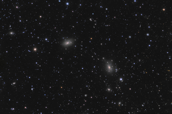Galaxy Group ACO 2197 in Hercules - Image Courtesy of Vasileios Spanakis-Misirlis