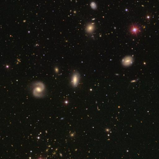 hickson 58 group - image courtesy of the sdss