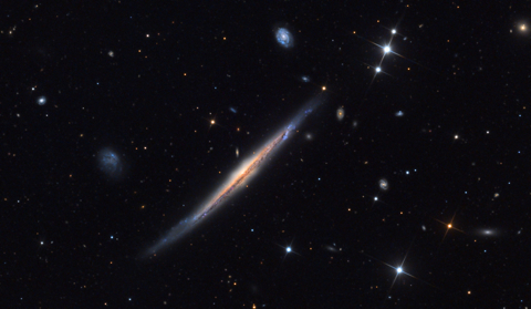 NGC 5529 - Image Courtesy of Adam Block/Mount Lemmon SkyCenter/University of Arizona