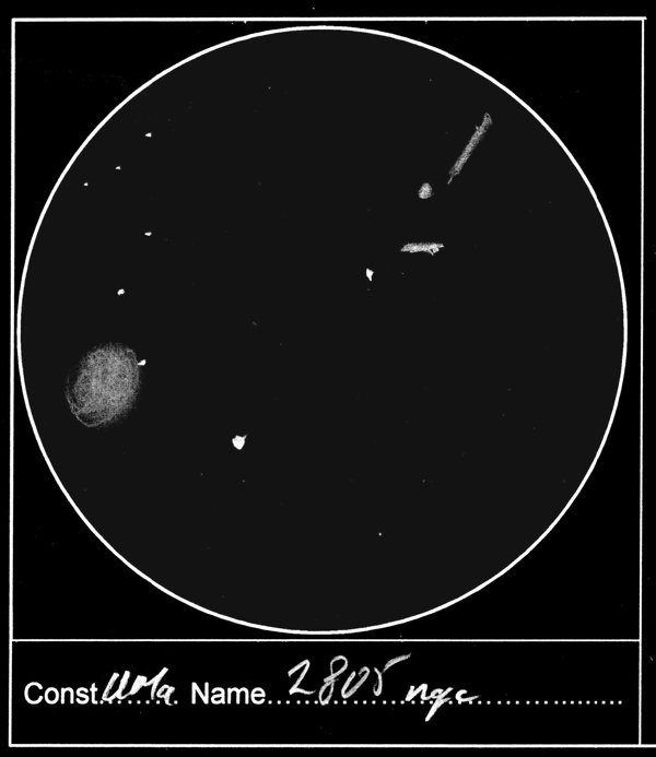 Inverted sketch of the NGC 2805 group courtesy of Andrew Robertson