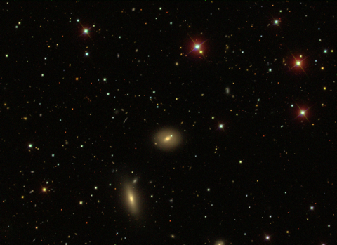 NGC 515 and 517 - Image Courtesy the Sloan Sky Survey