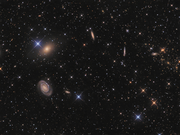 The NGC 5363/NGC 5364 galaxy group in Virgo courtesy of Thomas Henne