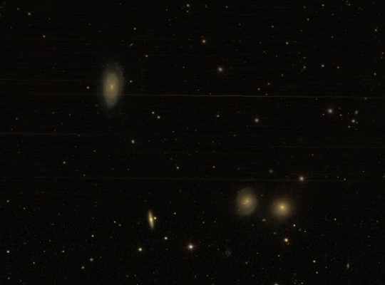 NGC 7782 group was provided by the Sloan Digital Sky Survey (SDSS)