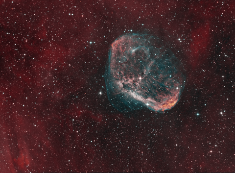 NGC6888 - Image Courtesy of David Davies