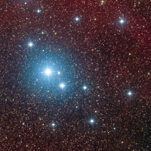 The Southern Pleiades open cluster (IC 2602) in Carina courtesy of Marco Lorenzi
