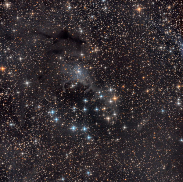NGC 225 (The Sailboat Cluster) - Image Courtesy of Warren Keller and David Kopacz