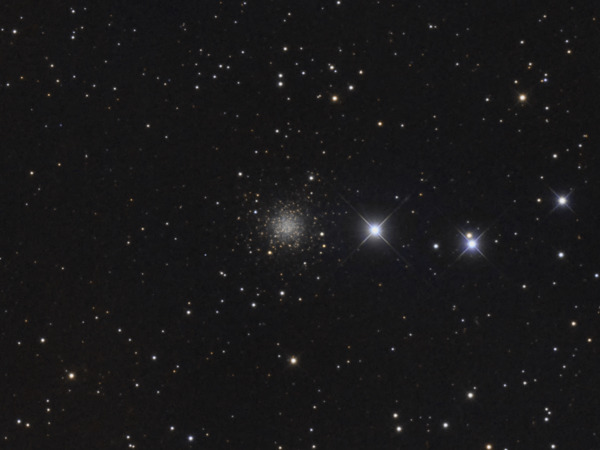 The Intergalactic Wanderer (NGC 2419) in Lynx - Image Courtesy of David Davies