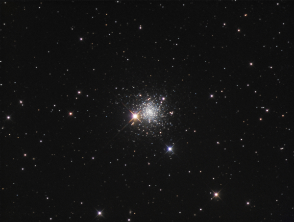 An image of the globular cluster NGC 5634 provided by Dan Crowson
