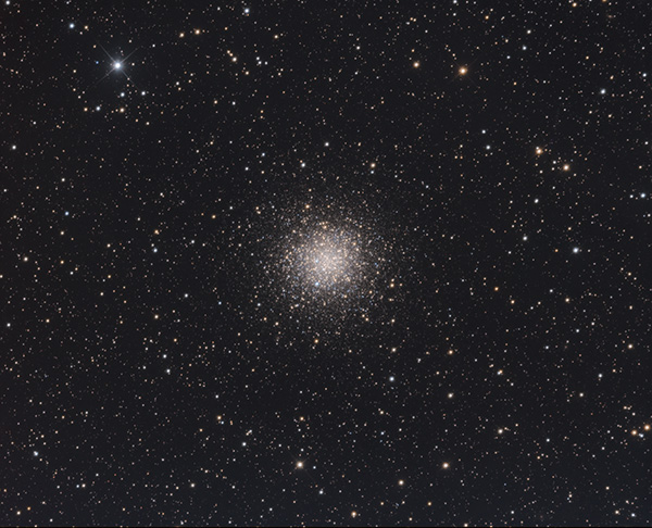 Globular cluster NGC 5986 in Lupus - Image Courtesy of Steve Crouch