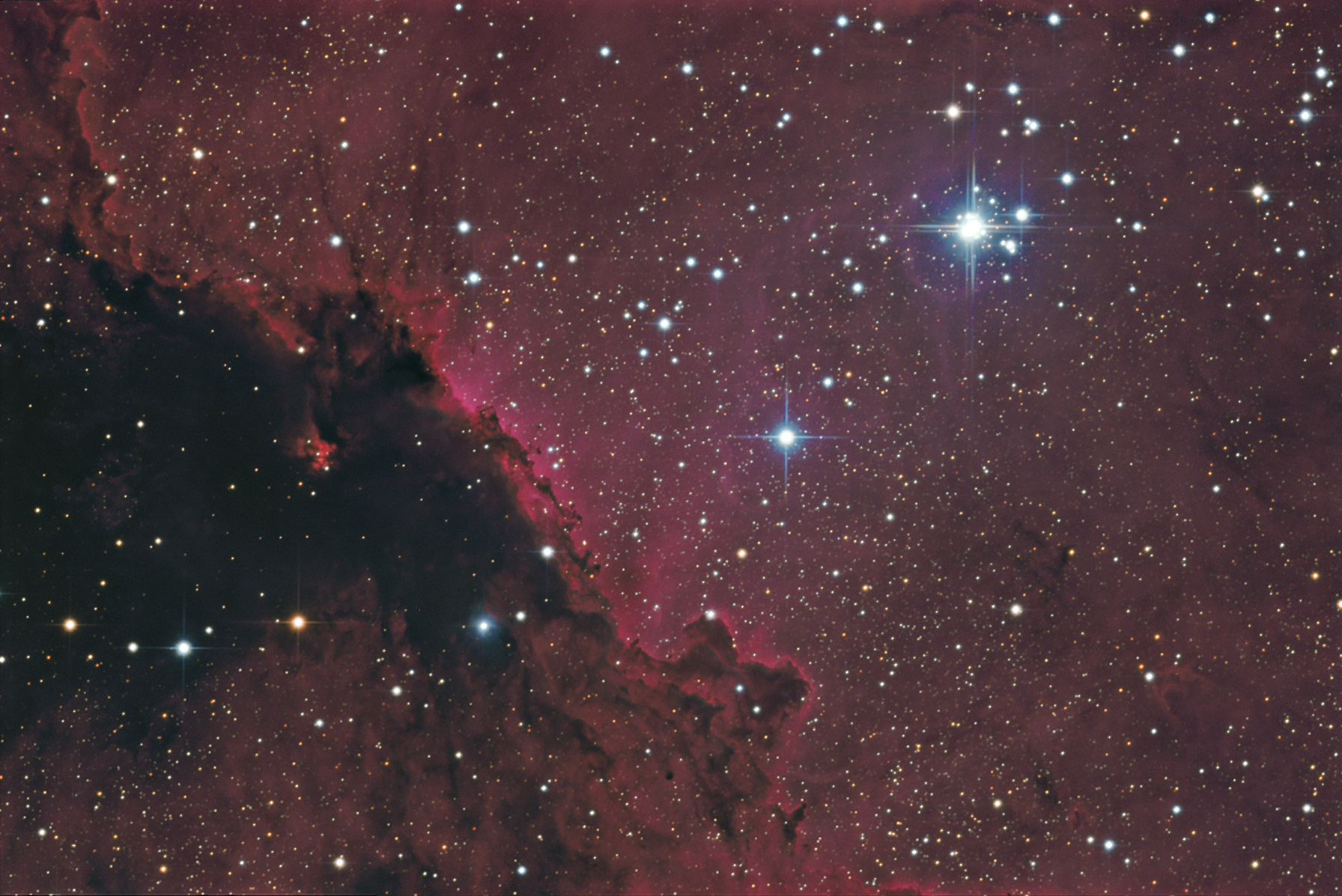 NGC6188 & NGC 6193 - Image Courtesy of Steve Crouch