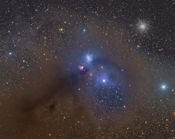 NGC 6726 - Reflection Nebula in Corona Australis - courtesy of Martin Pugh