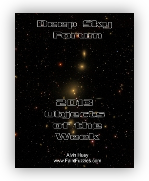 Cover of the Deep Sky Forum Objects of the Week 2013