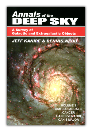 Willmann-Bell Publictions - Annals of the Deep Sky Volume 3 cover image